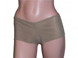 Baby Phat Taupe Boyshort Mesh Panty Panties Large