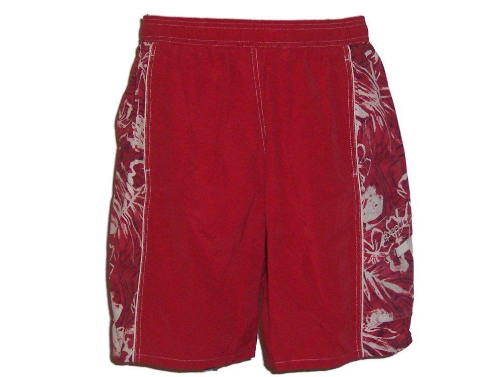 Speedo Red Men's Swim Trunks Swimsuit Small