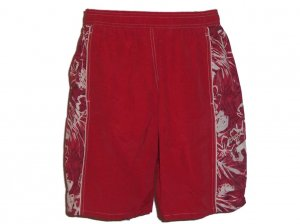 Speedo Red Men's Swim Trunks Swimsuit Small