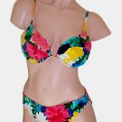 Gottex Floral Underwire Scoop Bikini Swimsuit 14
