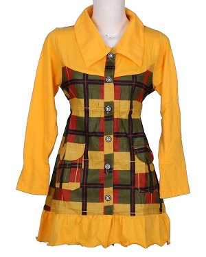 Mini Dress Type MD01-YELLOW