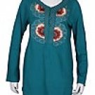 Embroidery Blouse Type EB01-GREEN