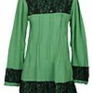 Brocade Blouse Type BB01-GREEN