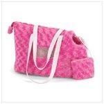 Pink Plush Pet Carrier
