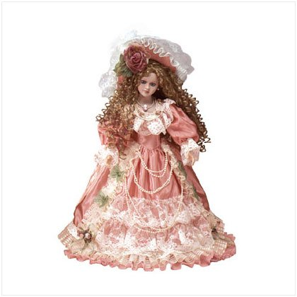 "18"" Porcelain Victorian Doll-Desiree"