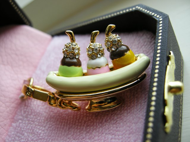 Brand-new Juicy Couture Banana Split Ice Cream Charm