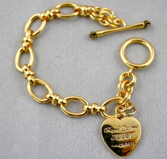 Juicy Couture Golden Heart Starter Bracelet