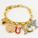 Juicy Couture Icon Cluster Bracelet