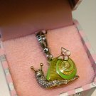 Juicy Couture Pave Snail Charm