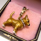 Juicy Couture Chihuahua Dog Charm