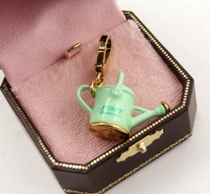 Juicy Couture Watering Can Charm