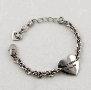 Juicy Couture Girls' Heart ID Bracelet
