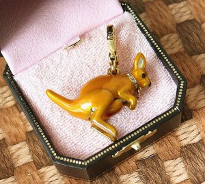 Juicy Couture Kangaroo Charm