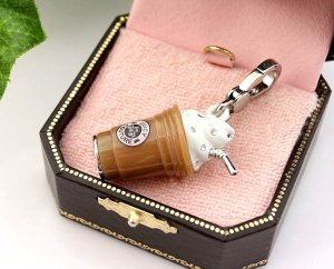 Juicy Couture Coffee Frappe Frappuccino Drink Charm