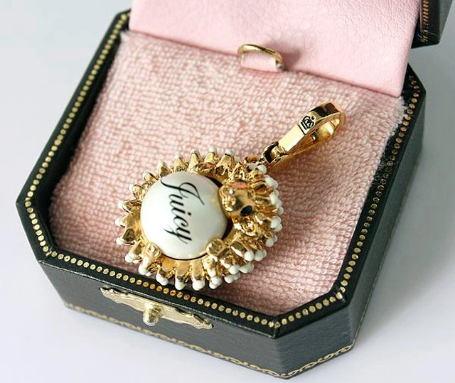 Juicy Couture Hedgehog Charm