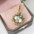 Juicy Couture Sparrow Bird Nest Charm