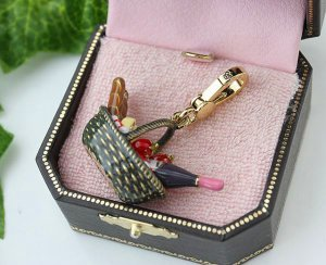 Juicy Couture Picnic Basket Charm (Pre-Release)