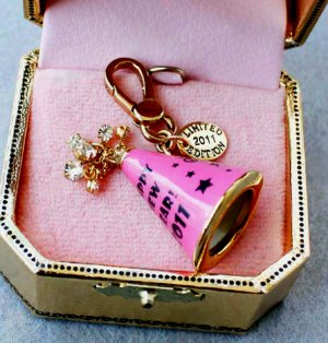 Juicy Couture 2010 Limited Edition New Year's Eve Party Hat Charm