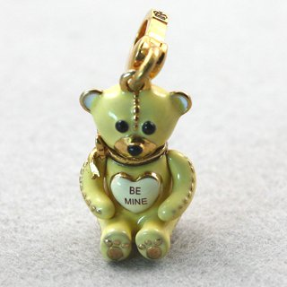 Juicy Couture Be Mine Pave Teddy Bear Charm