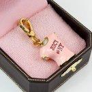 Juicy Couture Pink Juicy NY T-shirt Charm (Rare)