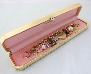 Juicy Couture 2009 Limited Edition Holiday Charm Bracelet