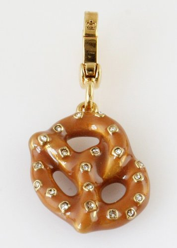 Juicy Couture Soft Pretzel Charm Pendant