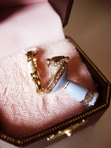 Juicy Couture Bird Bath Charm