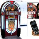 COPENHAGEN TA 433 JUKEBOX NEON LIGHT TOP LOADING CD PLAYER RADIO  3 DISC CD CHANGER