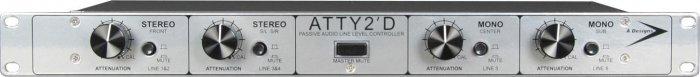 A-Designs ATTY2 D Passive Audio Line Level Control 5.1