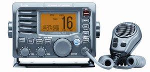 Icom IC M504 VHF Radio Class D DSC Submersible Grey New