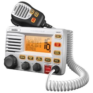 Uniden UM525 White Fixed Mount VHF Marine Radio