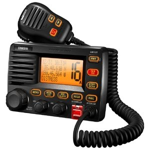 Uniden UM525-BK Black Fixed Mount VHF Marine Radio