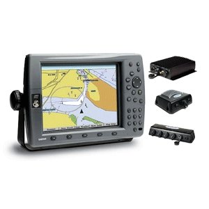 Garmin GPSMAP 3210 BUNDLE: Includes 3210 Color Chartplotter , GDL30A, GSD22, GMS10