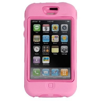 Otter Box Pink iPhone Defender Case - Limited Edition