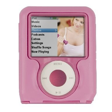 Otter Box Pink iPod Nano 3rd Generation Defender Strength Case