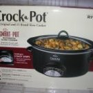 RIVAL CROCK POT *SMART POT*  5 1/2 QT. NIB  **BLACK**