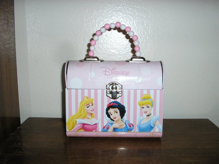 Disney Princesses Metal Tin Purse