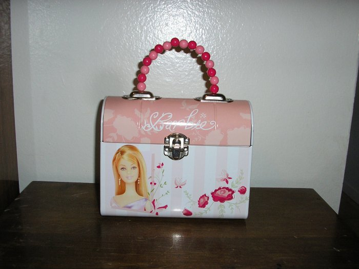 Barbie Mattel Metal Tin Purse