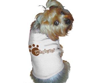 Ruff Ruff and Meow doggie tee-Whatever