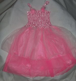 Girls Fairy Dresses, Pink Pom-Pom