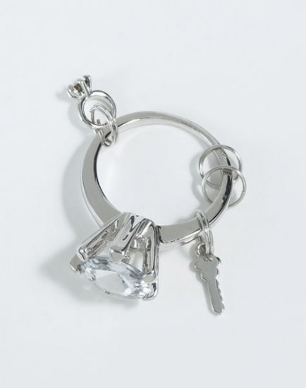 Diamond Ring Keychain