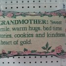 Pillow-Grandmother