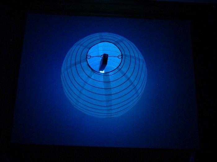 OZ-1 Sample  LED paper lantern