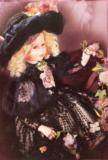"""""""Valentina"""" porcelain doll"""
