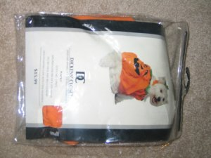 Pumpkin Costume for Dogs