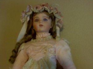 Tatiana porcelain doll