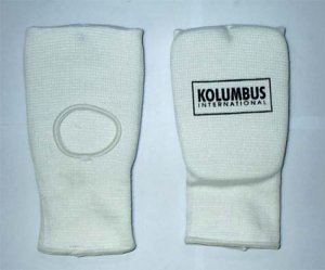 ELASTICATED FOAM MITT-LARGE