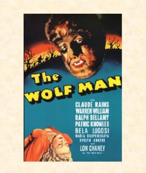 L'Uomo Lupo - The Wolf Man, 1941 (Locandina) / �.14,90