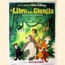 Il Libro della Giungla - Disney's Jungle Book, 1967 (Poster originale) / €.24,90