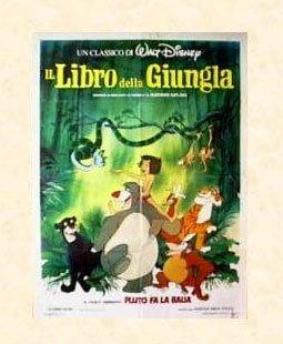 Il Libro della Giungla - Disney's Jungle Book, 1967 (Poster originale) / �.24,90